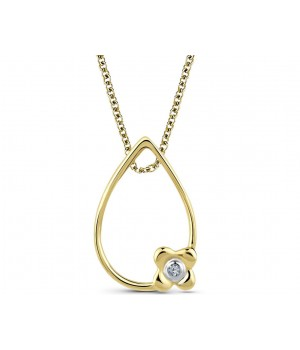 Beautiful Diamond Pendant DPC1001
