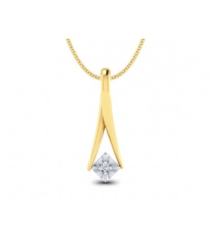 Elegant Star Diamond Pendant DPC1002