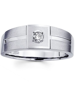 18k White Gold Diamond Ring DRM5007