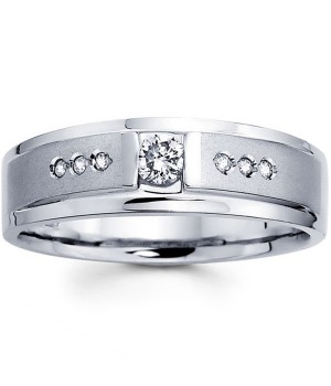 18k White Gold Diamond Ring DRM5008