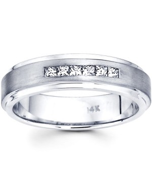 18k White Gold Diamond Ring DRM5032