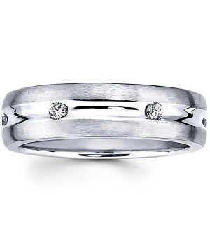 18k White Gold Diamond Ring DRM5035