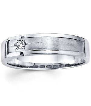 18k White Gold Diamond Ring DRM5036
