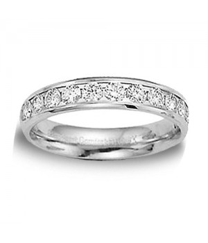 18k White Gold Diamond Ring DRM5057