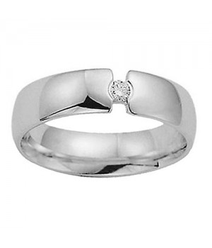 18k White Gold Diamond Ring DRM5058