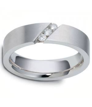 18k White Gold Diamond Ring DRM5061