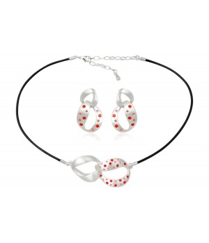 Red and Pink Crystal Set